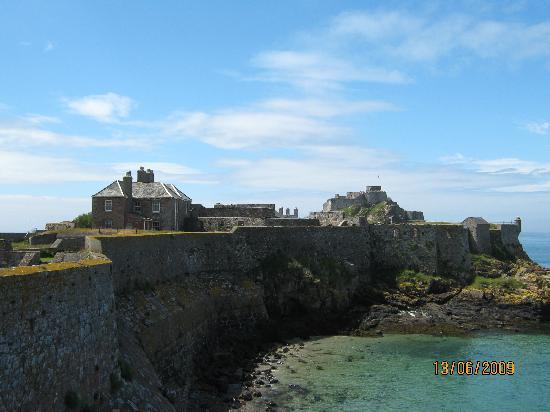 Elizabeth Castle: view from gatehouse