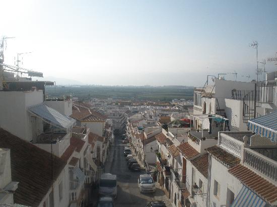 Salobrena, Spain: subiendo al castillo
