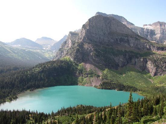 Grinnell Glacier: Lake Grinnel