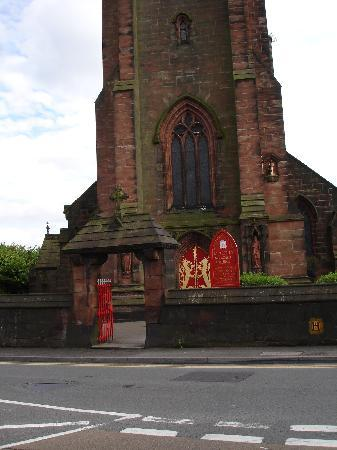 Stoke-on-Trent, UK: cheadle church
