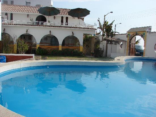 Hotel Huankarute: la pool :)