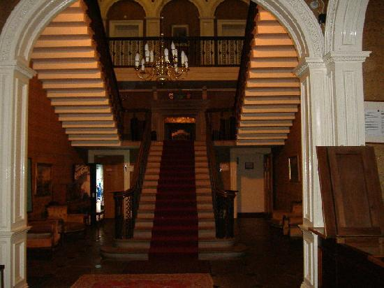 Baskerville Hall Hotel: striking hotel lobby