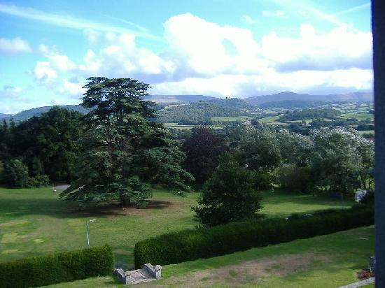 Baskerville Hall Hotel: view from our room