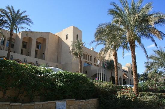 InterContinental Aqaba Resort: Outside of hotel