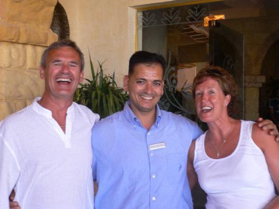 Albatros Palace Resort: Mustafa from the Mediterranean restaurant
