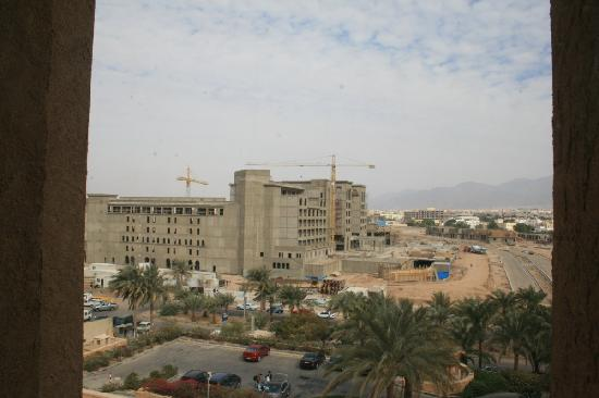 InterContinental Aqaba Resort: Building next door