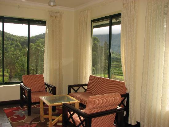 Camp Noel: Living Room View