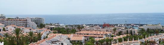 Hotel Villa de Adeje Beach: unser ausblick
