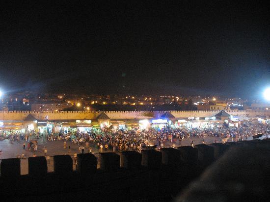 Riad Felloussia: dalla terrazza