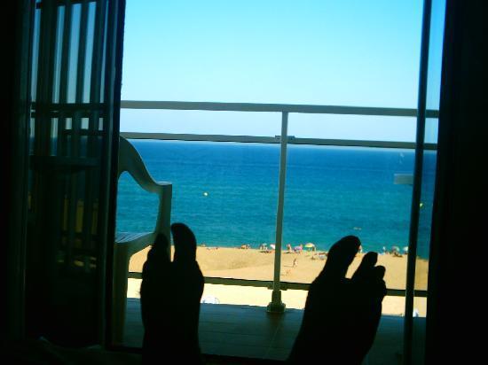 Hotel Sorra Daurada Splash : vue de ma chambre