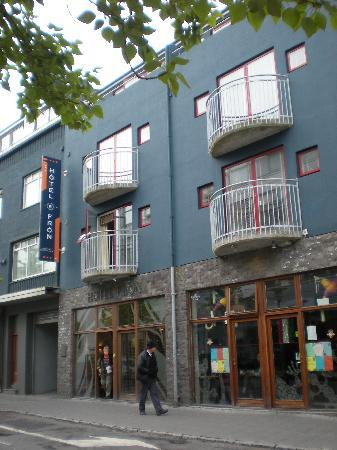 เรคยาวิก, ไอซ์แลนด์: Hotel Fron