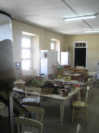 Gorreana Tea Plantation: the packers are having a break
