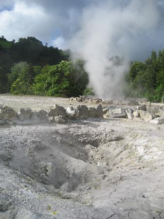 Furnas: scary looking craters