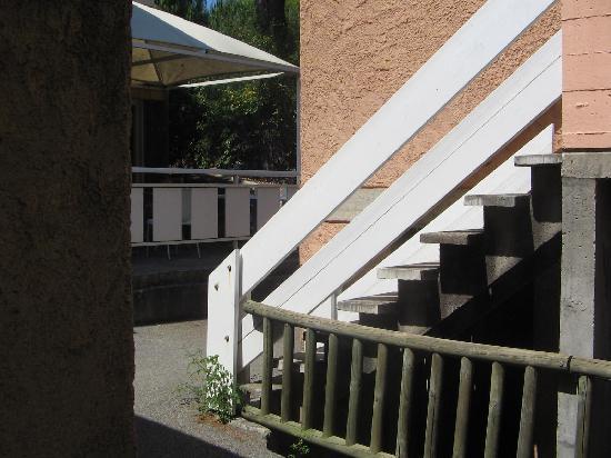 Belambra Clubs - Les Jasmins: vue de la terrasse