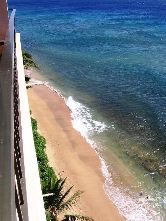 Maui Kai: beach looking left off lani