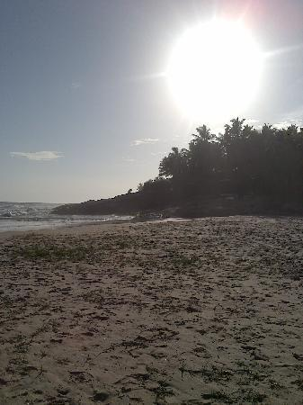 The Travancore Heritage Beach Resort: Private Beach