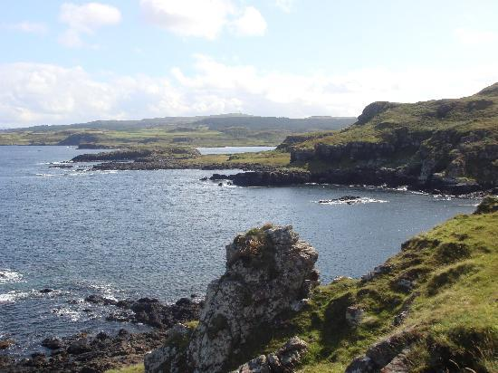 Cuin Lodge - TEMPORARILY CLOSED: View from Quinnish point, a cracking walk from Cuin Lodge