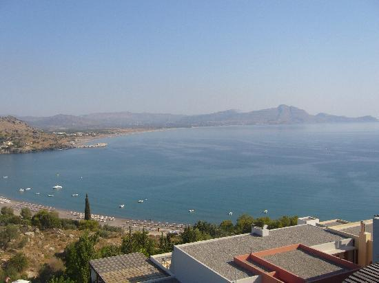 Lindos Mare Hotel: View from room