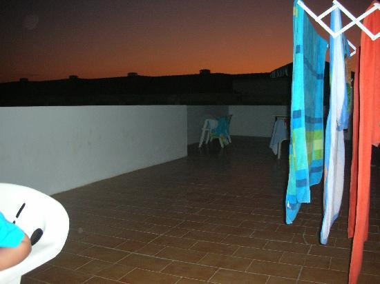 Novochoro Apartamentos Turisticos: terraza compartida