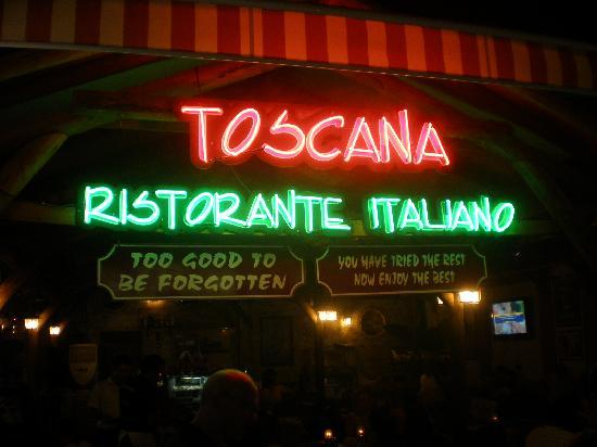 Toscana Ristorante Italiano: Toscana Dont miss it !!