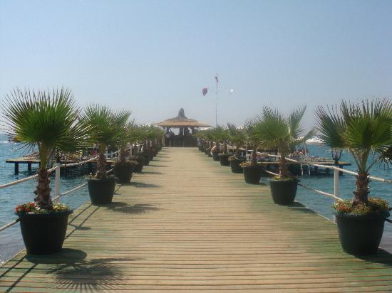 Delphin Palace Hotel: jetty