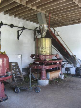 Furnas: ancient equipment