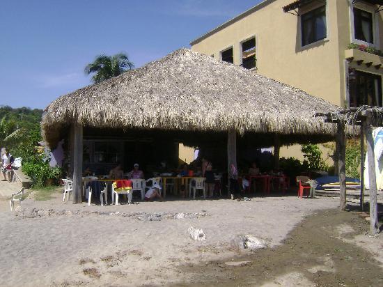 Barcelo Huatulco: La Bocano Beach, Food Shack (Great Lobster, Cheap Cervezas)