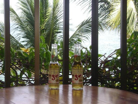 Barcelo Huatulco: First beers on the balcony...