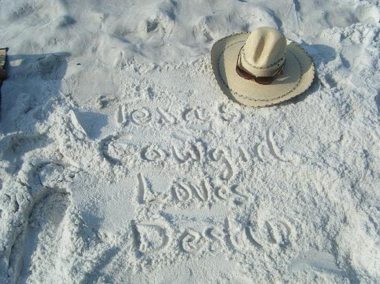เดสติน, ฟลอริด้า: Texas Cowgirl Loves Destin