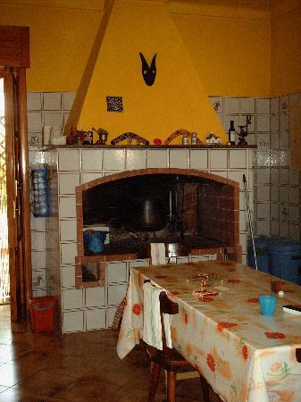 Santu Nicola Bed & Breakfast: Cucina