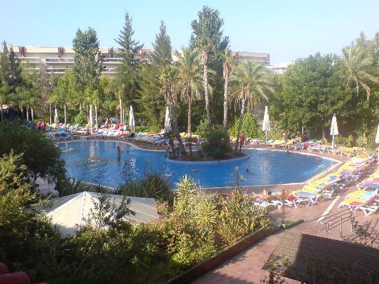 Ohtels Vil.la Romana: Lovely Pool (all those sunbeds!)