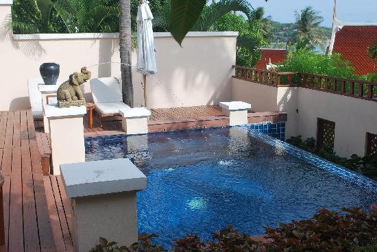 คิว ซิกเนเจอร์ สมุย บีช รีสอร์ท: Private Pool in villa