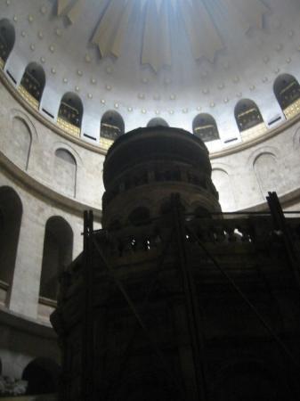 เยรูซาเล็ม, อิสราเอล: He's supposedly buried in here.