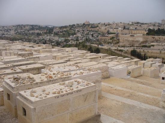 เยรูซาเล็ม, อิสราเอล: Jewish Cemetry on the Mountain of Olives