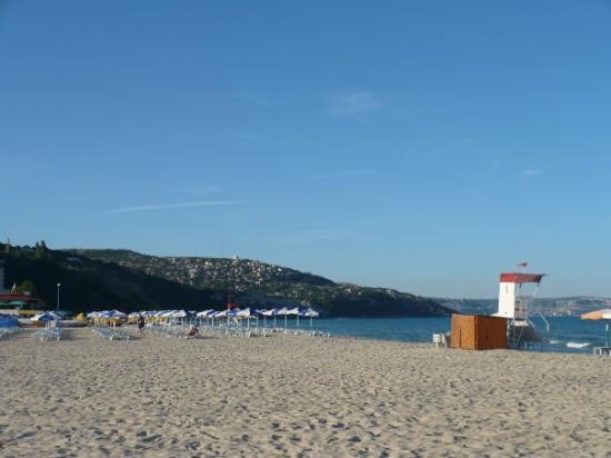 Albena, บัลแกเรีย: la plage de l'hotel