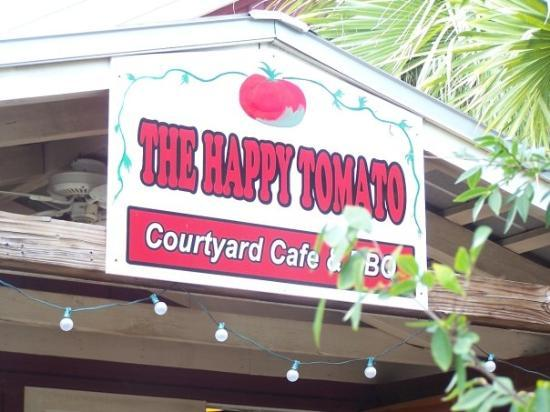 Happy Tomato Cafe: This is where we had lunch....they make a fantastic pimento cheese sandwich.  Their BBQ looked g