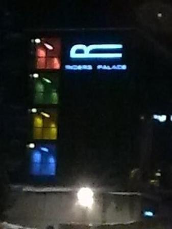 Riders Palace by night