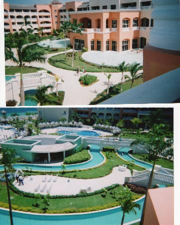 Iberostar Rose Hall Suites: Room 4321 balcony views front/right