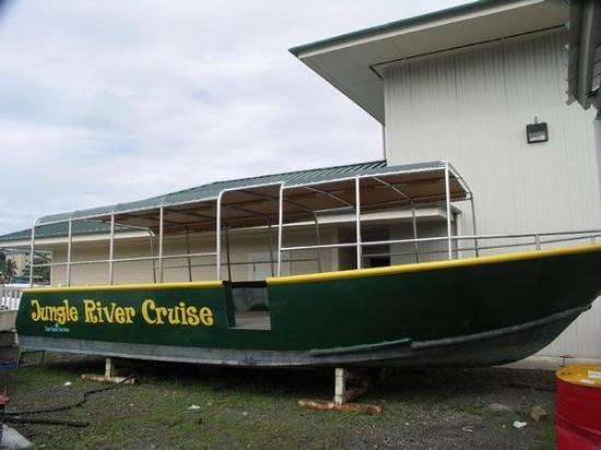 กอโรร์, ปาเลา: Sunday June 24 2007 Jungle River Cruise Ngeschar Palau
