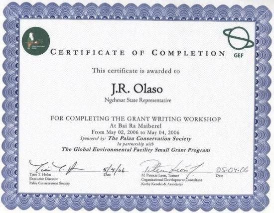 กอโรร์, ปาเลา: May 2-4, 2006 The Global Environmental Facility Small Grant Program