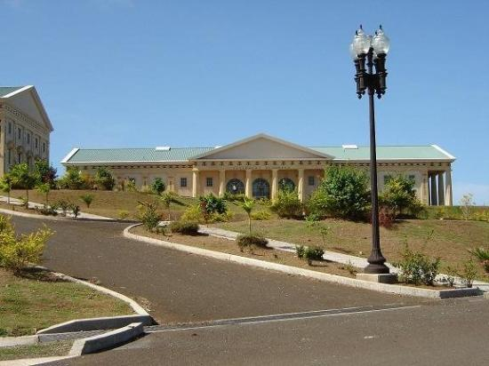 กอโรร์, ปาเลา: Saturday March 25 2006 The Judicial Building Melekeok State Babeldoab PW
