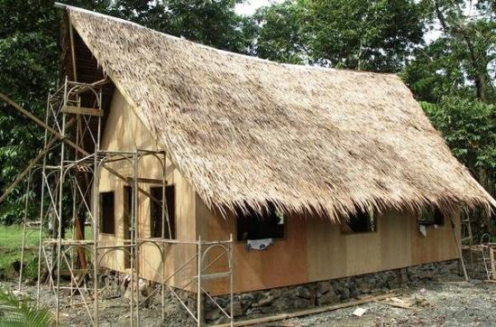 กอโรร์, ปาเลา: Monday July 30 2007 The Newest Hut