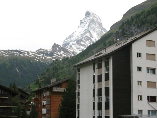 The Matterhorn: our view from hotel