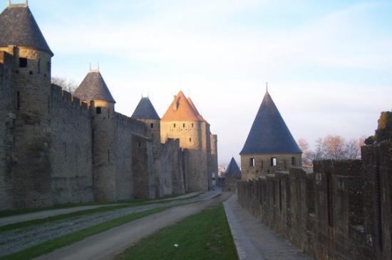 การ์กาซอน, ฝรั่งเศส: Castle in Carcassone