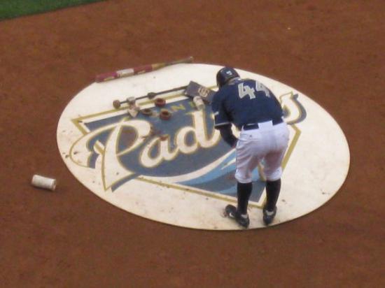 ซานดีเอโก, แคลิฟอร์เนีย: We were treated to a Padres game by bill and Julie