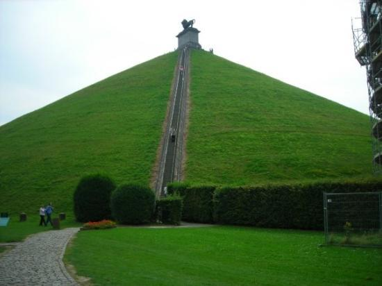 Mémorial 1815: Butte de Leon at the Waterloo battle site in Belgium.  236 steps to the top; it took me a while,