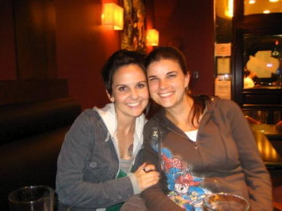 แวนคูเวอร์, แคนาดา: me and my canadian friend, Caroline (aka Flava)