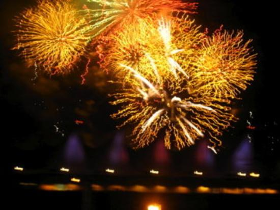 แวนคูเวอร์, แคนาดา: Canada Day fireworks on the coast of Vancouver