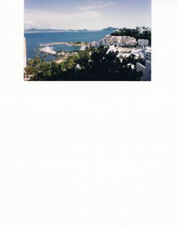 Vista del Hotel tesoro Manzanillo