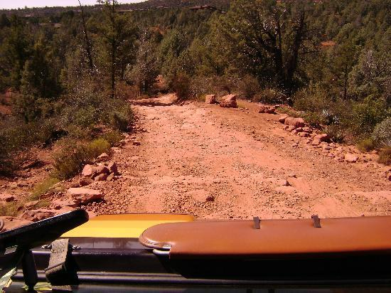 Barlow Jeep Rentals: Red Rock Trail